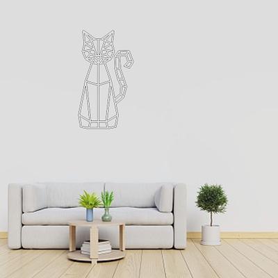 Dekoracija Katinas sėdi 3 30-100cm