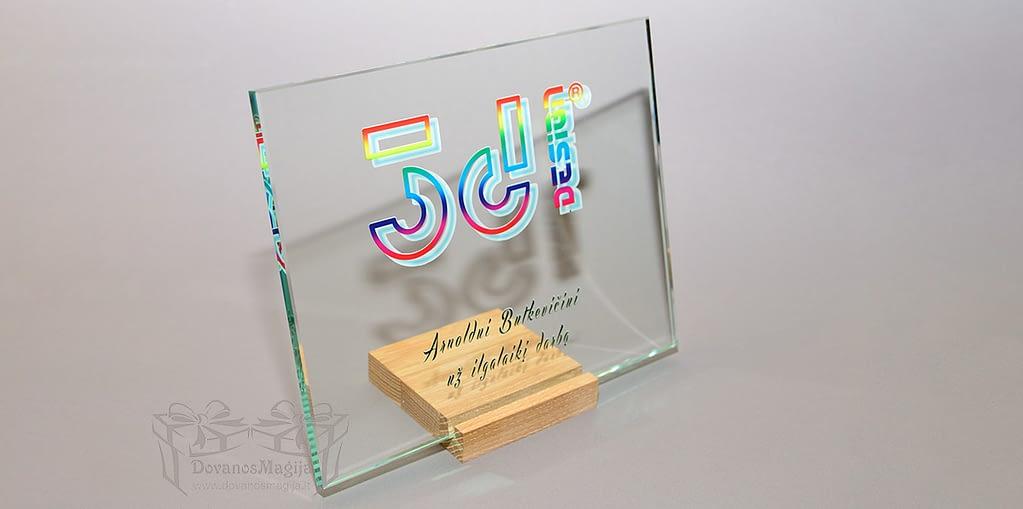 foto ant stiklo Verslo apdovanojimas, darbų galerija