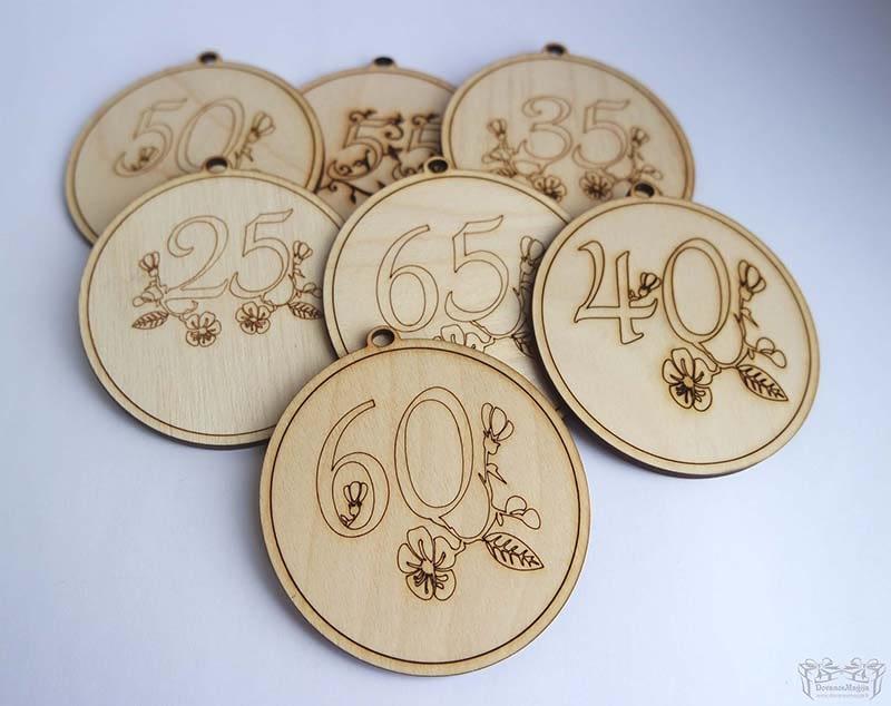 Medaliai ir dekoracijos