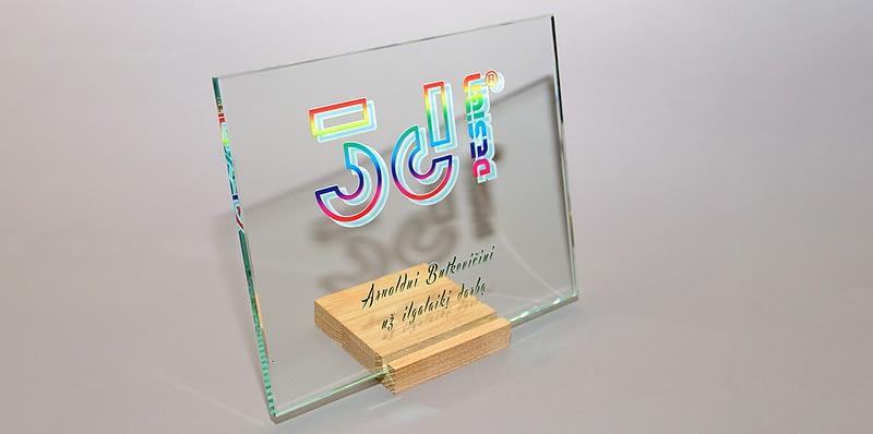 Foto ant stiklo