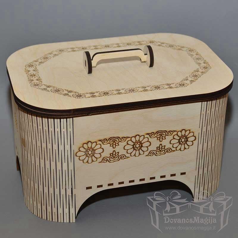 medinė papuošalų dėžutė, medinė papuošalų dėžutė, Medinės Dovanos iš plokštės