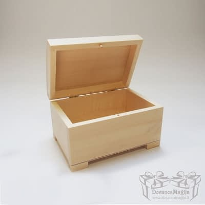 Medinė dėžutė stačiakampė 17x11x10cm MedinesDovanos Medinė dėžutė