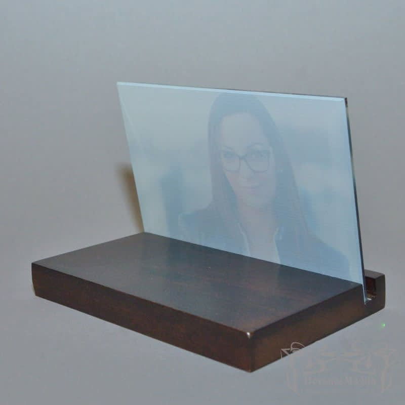 Nuotrauka ant stiklo horizontali
