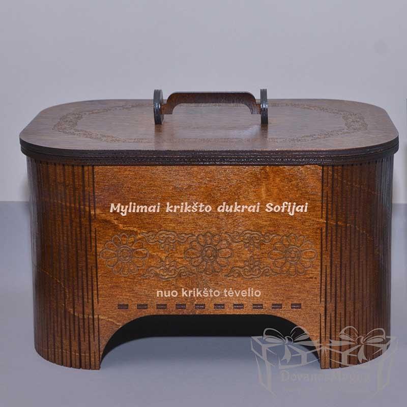 medinės dėžutės Jums, Rankų darbo dovanos medinė skrynelė