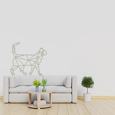 Dekoracija Katinas stovi 2 30-100cm