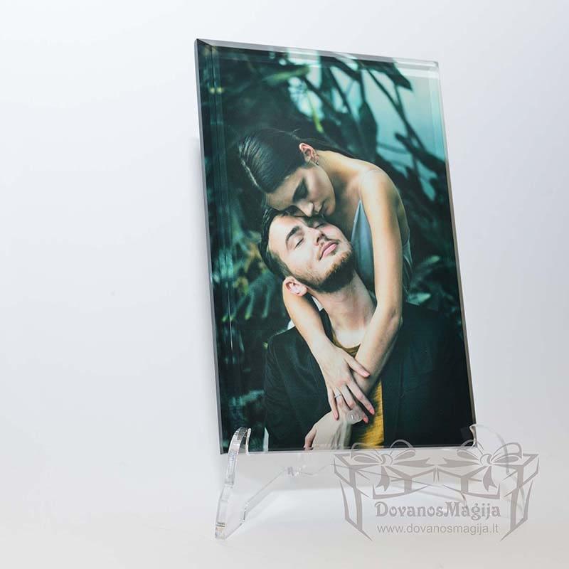 Nuotrauka stikle