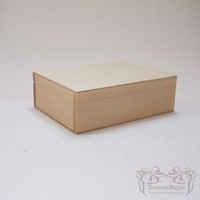 Medinė dėžutė stačiakampė 20x15x6cm MedinesDovanos Medinė dėžutė