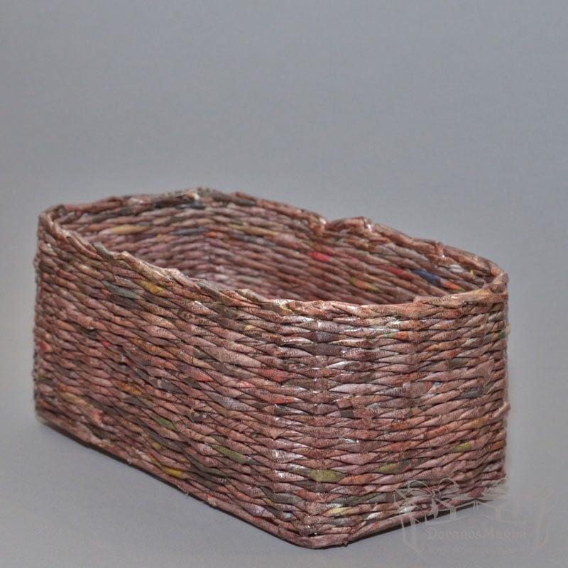 Pintas krepšelis stačiakampis, darbų galerija