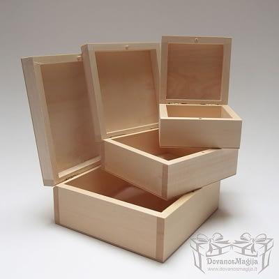 Medinės Dovanos, Medinė dėžutė