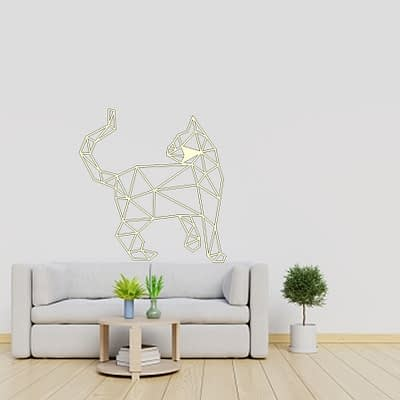 Dekoracija Katinas stovi 1 30-100cm