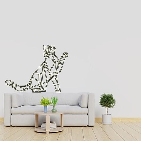 Dekoracija Katinas sėdi 4 30-100cm