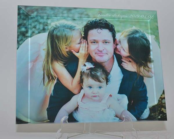 foto rėmelis Nuotrauka stikle dovanos krikštynoms