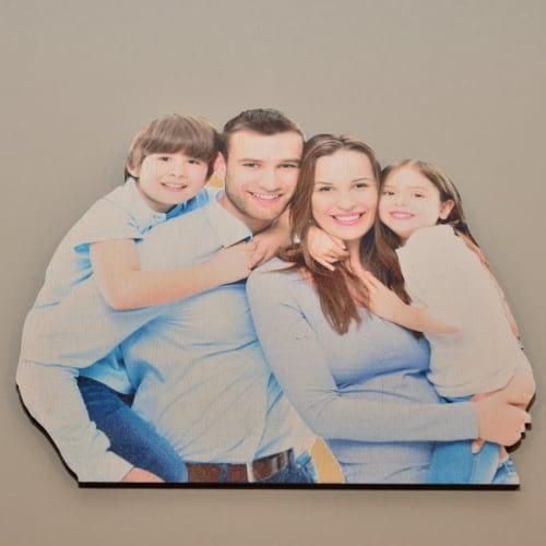 trimačio efekto nuotrauka ant plokštės