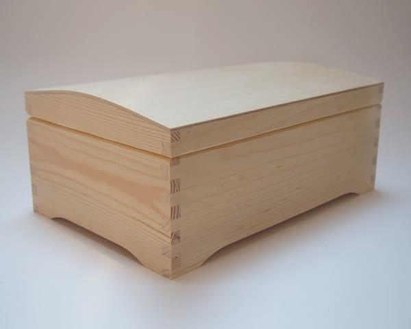 Medinė dėžutė skrynelė 30x20x12cm