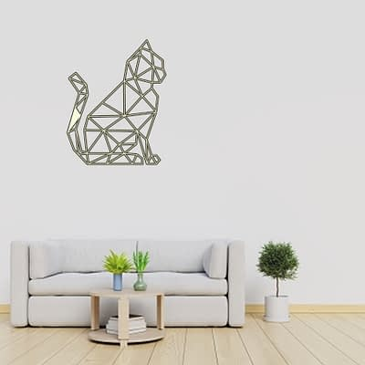 Dekoracija Katinas sėdi 2 30-100cm