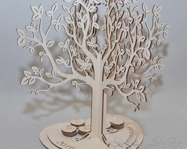 DovanosMagija_ Palinkėjimų medis dovanos krikštynoms