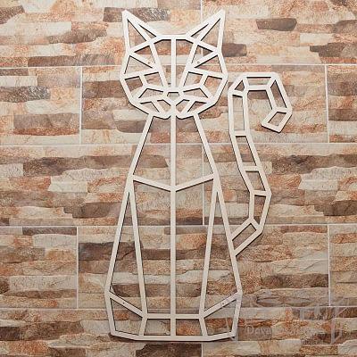 Dekoracijos Dekoracija Katinas sėdi 3 30-100cm