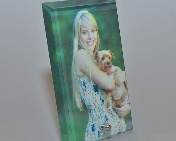 Nuotrauka ant stiklo vertikali, darbų galerija