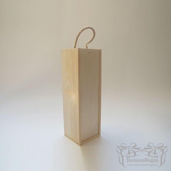 Medinė dėžutė stačiakampė 36x11x11cmMedinesDovanos Medinė dėžutė