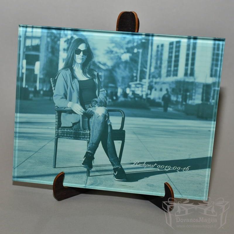 nuotrauka ant stiklo, darbų galerija